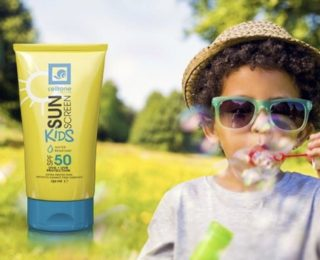 Sun protection doesn't disappear in winter for your child's delicate skin