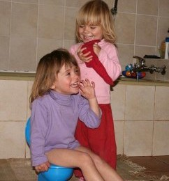 The lighter side of potty training
