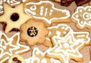 Easy Xmas biscuits I made with my kids