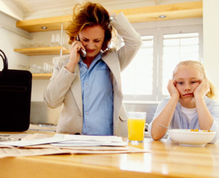 The challenges facing working moms