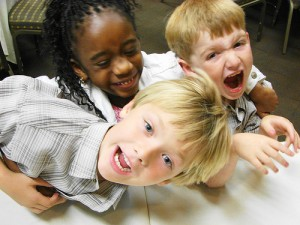 Hyperactivity and kids parties