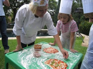 Our kiddies pizza party