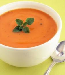 Carrot/butternut & cardamom soup