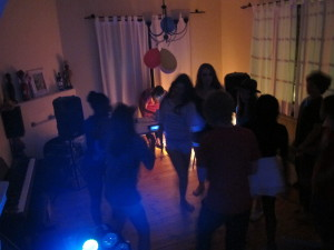 My son's Superstar  Disco Party
