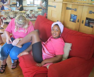 My 10 yr old's pamper party- oolala!