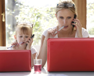 The world of working mothers