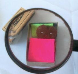 Make a cute little pal in a matchbox