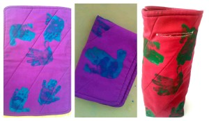 DIY Kids: 3 Personalised, handmade gifts – placemats, pot holders, and a bottle tote