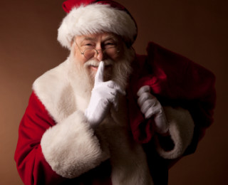 Is Father Xmas real? To lie or not to lie, that is the question!