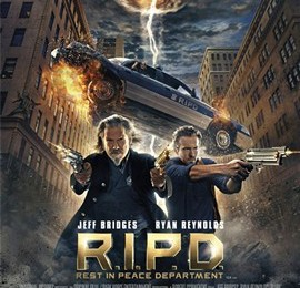 R.I.P.D – Rest in Peace Department – a clever 3D Supernatural Comedy.