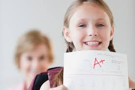 Dealing with your child's  school report