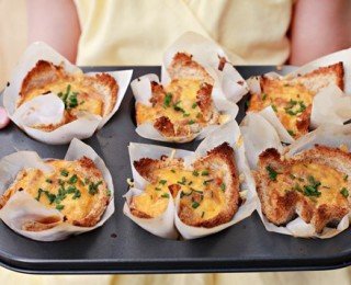 Baked beans nests