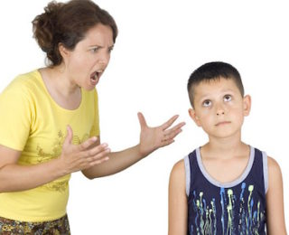 Shouting won't help your child to learn