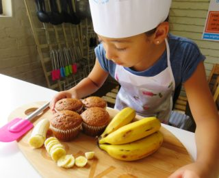 Lunchbox ideas: Banana muffins